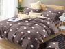 Двуспальный набор постельного белья 180*220 из Сатина №1744 Черешенка™