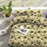 """Тканина для постільної білизни Бязь """"Gold"""" """"Extraordinary floral print"""" GLL6306burgundy"""