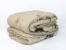 Двуспальное одеяло-плед шерсть мериноса №42005