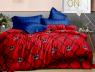 """Полуторный набор постельного белья 150*220 из Бязи """"Gold"""" №151510AB Черешенка™"""