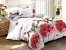 Семейный набор хлопкового постельного белья из Ранфорса №18809 Черешенка™