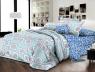 Евро макси набор постельного белья 200*220 из Ранфорса №182021AB Черешенка™