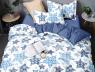 """Евро макси набор постельного белья 200*220 из Бязи """"Gold"""" №151118AB Черешенка™"""