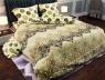 """Ткань для постельного белья Бязь """"Gold"""" Lux """"Абстрактный принт (жёлтый)""""( GL809 (A+B) - (50м+50м)"""