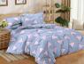 Двуспальный набор постельного белья 180*220 из Сатина №061AB Черешенка™