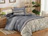 Двуспальный набор постельного белья 180*220 из Сатина №389AB Черешенка™