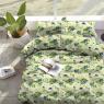 """Тканина для постільної білизни Бязь """"Gold"""" """"Extraordinary floral print"""" GLL6306blue"""