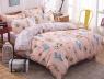 Двуспальный набор постельного белья 180*220 из Сатина №1919AB Черешенка™