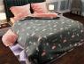 """Семейный набор хлопкового постельного белья из Бязи """"Gold"""" №157431AB Черешенка™"""