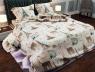 """Ткань для постельного белья Бязь """"Gold"""" Lux GL628"""