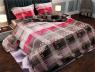 """Ткань для постельного белья Бязь """"Gold"""" Lux """"Геометрический принт""""GL527"""
