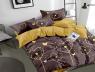 """Полуторный набор постельного белья 150*220 из Бязи """"Gold"""" №154565AB Черешенка™"""