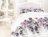 Евро макси набор постельного белья 200*220 из Ранфорса Riella Lila First Choice™
